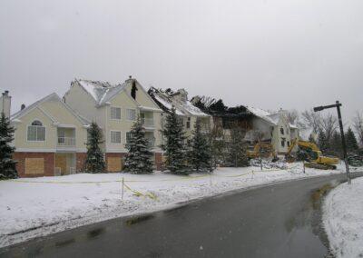 Beachwood Apartments-Fire Restoration